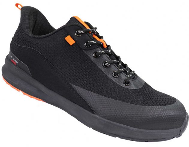 Lee Cooper LCSHOE143 Lightweight Safety Trainer Shoe | Black | TuffShop.co.uk